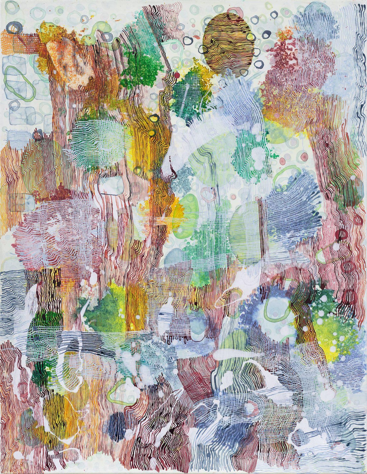 Acrylic On Canvas 100x70cm